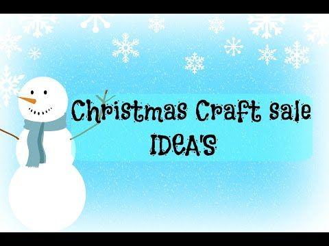 CRAFT SHOW IDEAS | DIY | CHRISTMAS CRAFTS | EASY - YouTube