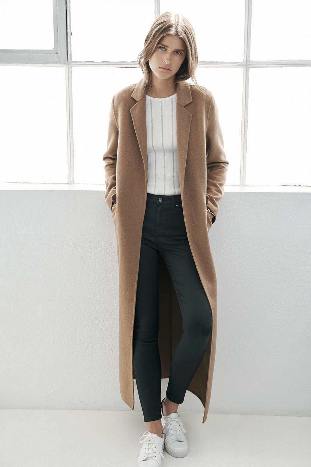 Wool Slouch Coat - Jackets & Coats - Clothing | Wool, Coats and ...