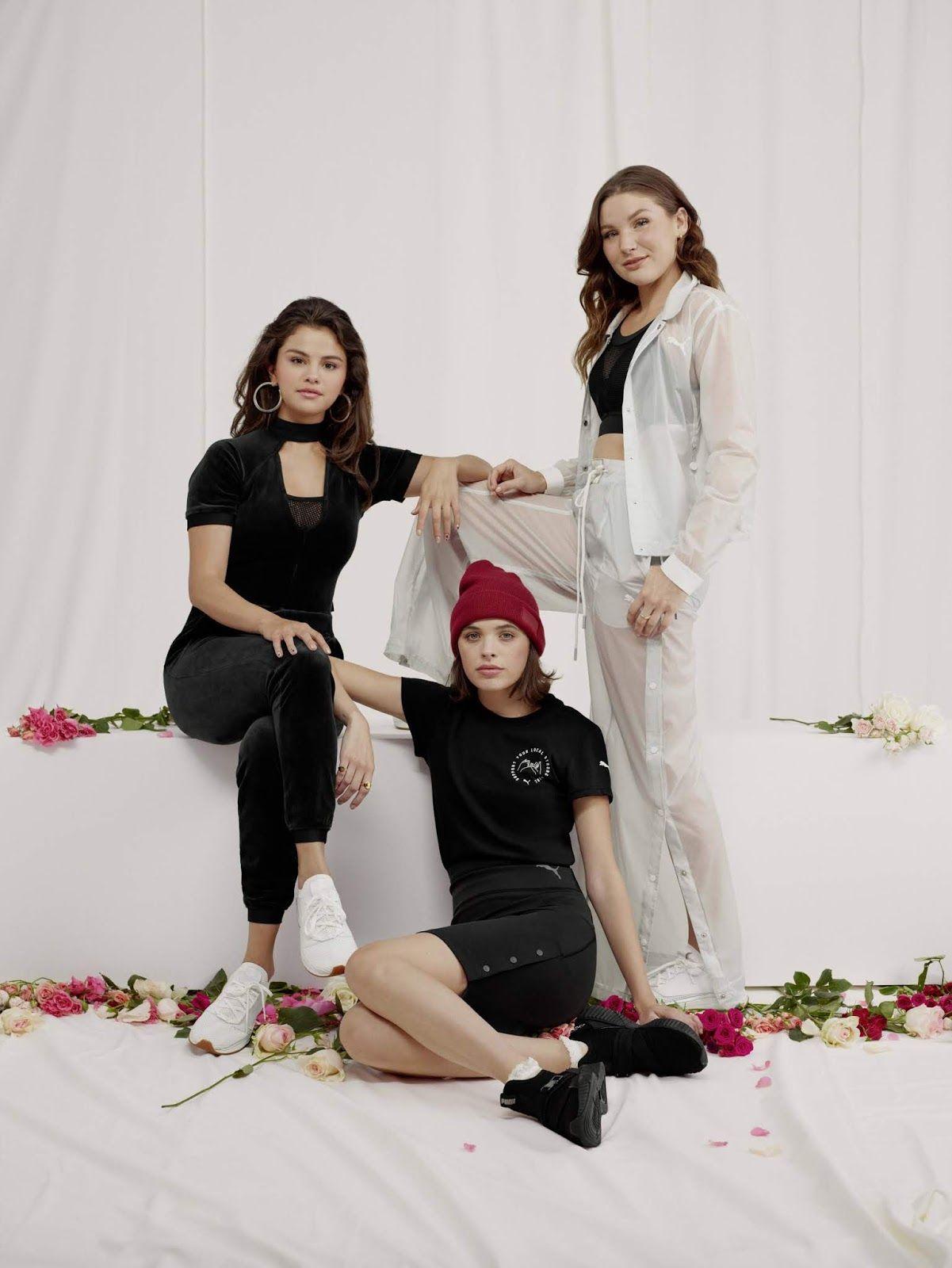 e03cbe2b88f8 Selena Gomez - SG x Puma