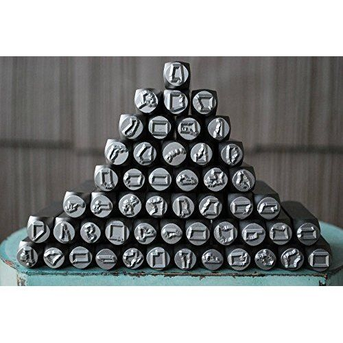 TEKTON 6610 5//32-Inch Letter and Number Stamp Set 36-Piece