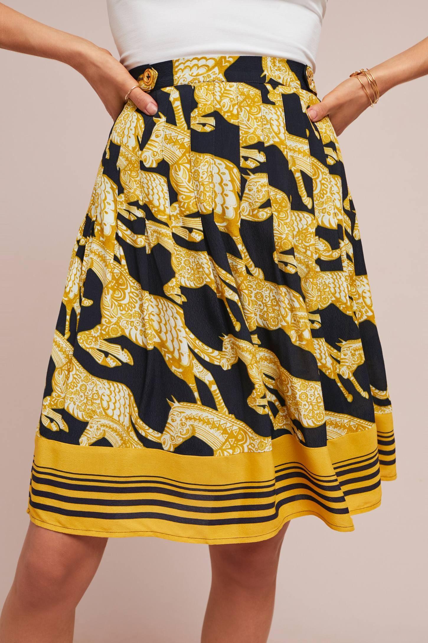 2aab989c0b Jade A-Line Skirt   AW WHAT?!...I really like that.   A line skirts ...
