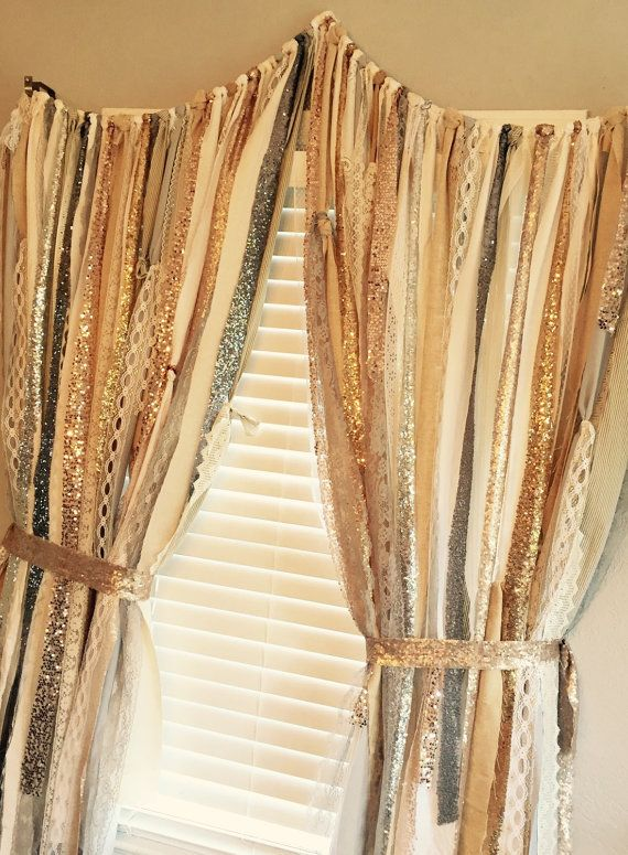 Sequin Curtains Silver Gold Chagne Rose And Rhpinterest: Sequence Curtains For Bedroom At Home Improvement Advice