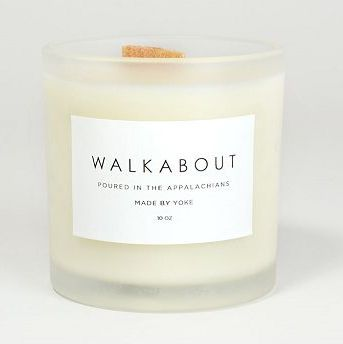 Yoke Walkabout Wood Wick Candle | Pipe & Row $35