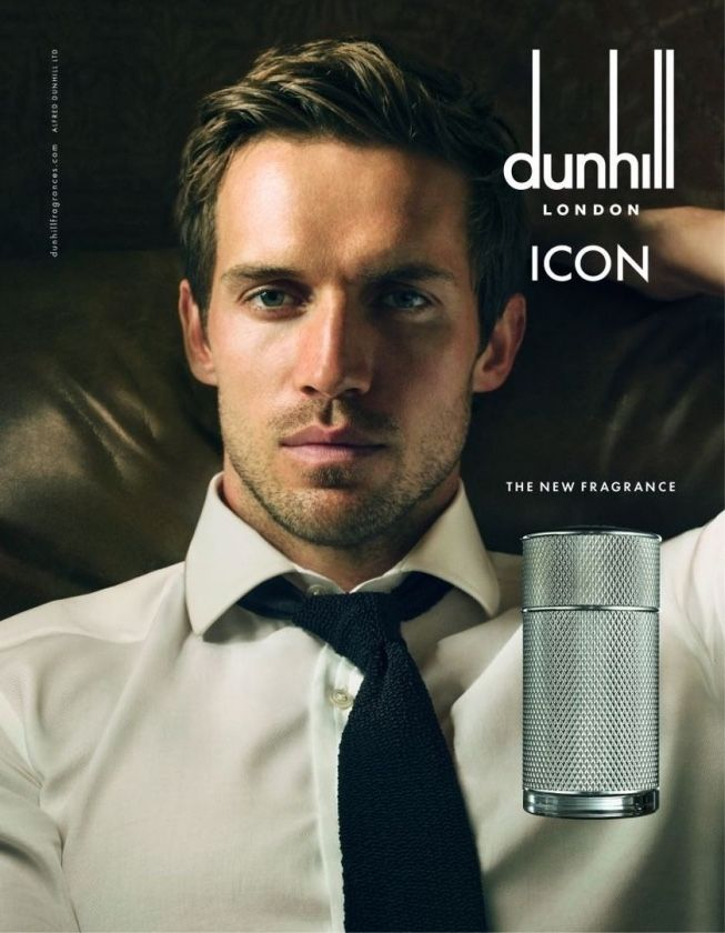 Reuniting with Dunhill for its fall-winter 2015 advertising campaign, model  Andrew Cooper is also the face of the brand s Icon fragrance. 4774f8b40661