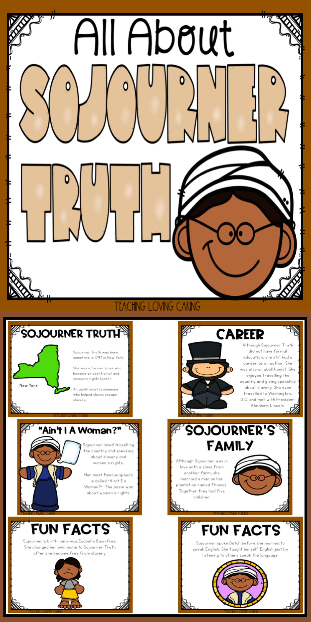 All About Sojourner Truth Use This Kid Friendly Presentation To Teach Your Class All Ab Sojourner Truth Black History Month Activities Social Studies For Kids [ 2110 x 1055 Pixel ]