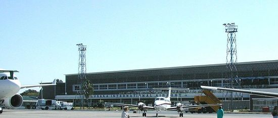 Internationale vliegveld van Lusaka, Zambia #Zambia #International Airport Lusaka http://www.mambulu.com/safari/zambia/reissuggesties-zambia/36-luxe-safari-zuidwest-zambia.html#dag-12-lusaka