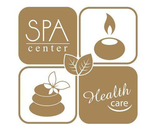 Spa Center, Health Wall Sticker East Urban Home Colour: Tan, Size: 100 cm H x 102 cm W