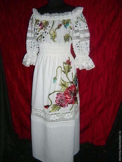 Эксклюзивная одежда с вышивкой