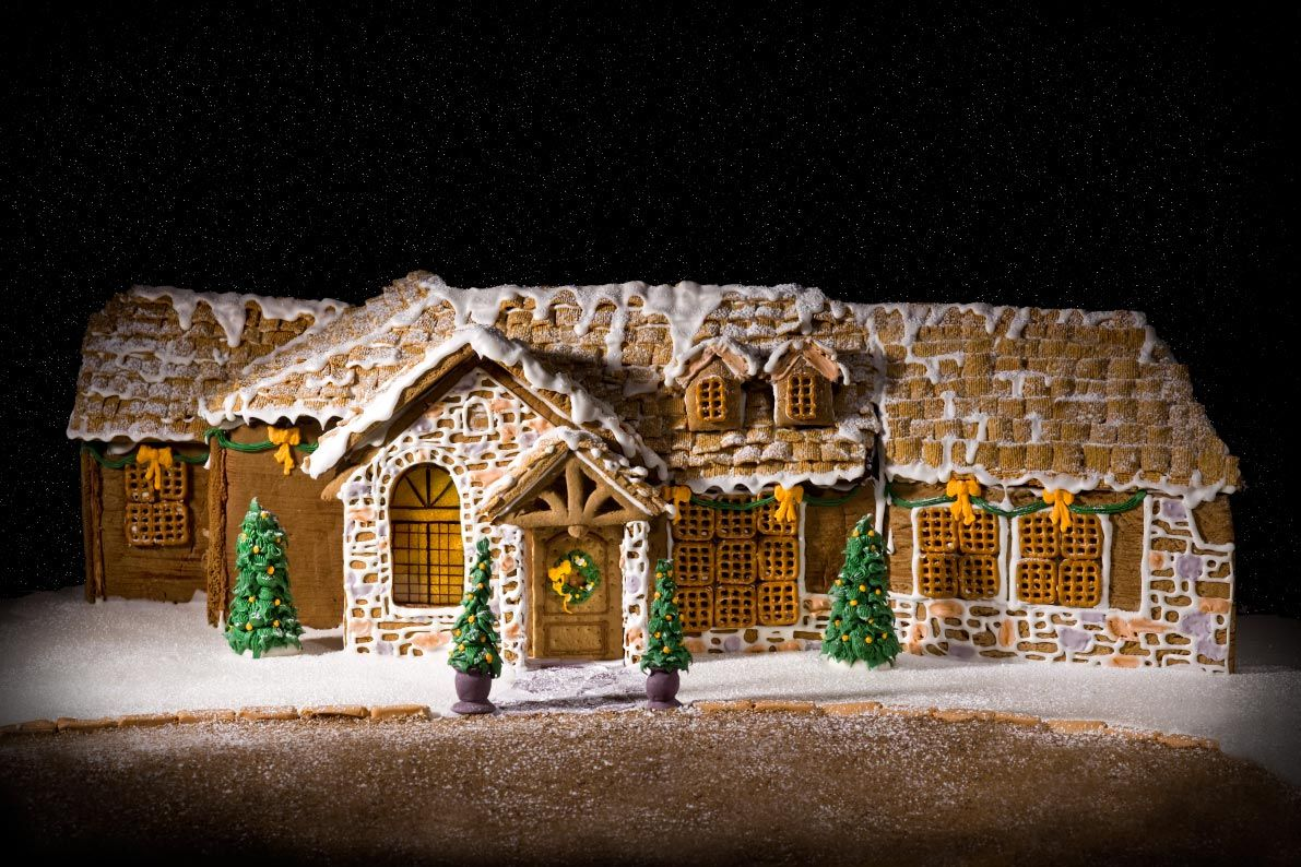gingerbread ranch house - Google Search | Christmas ...