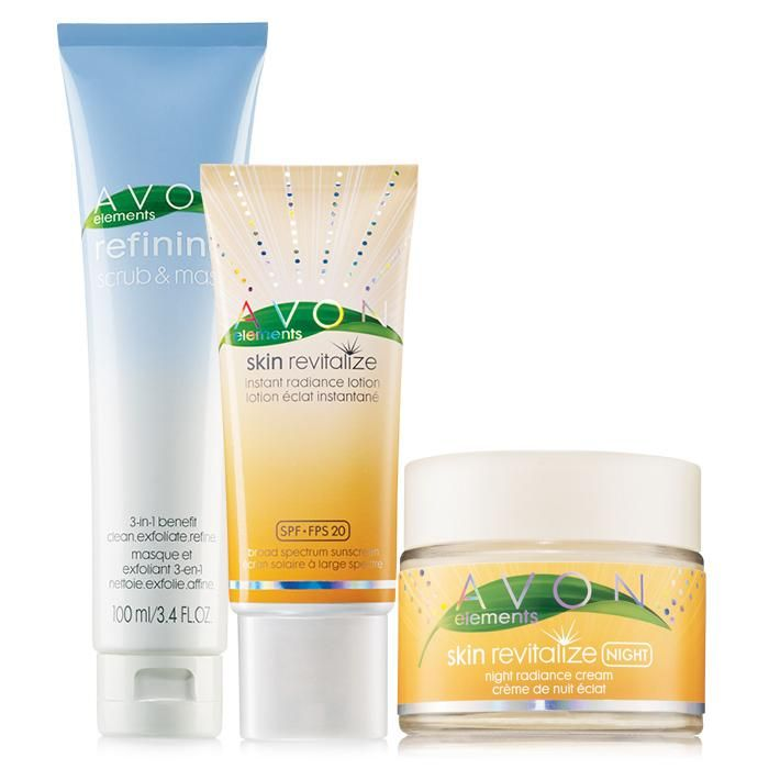 $17.99 Refining and revitalizing.A $28.97 value, the collection includes:•Refining Scrub & Mask -3.4 fl. oz. a $6.99 value•Skin Revitalize Instant Radiance Lotion Broad Spectrum SPF 20 -1.7 fl. oz. a $10.99 value•Skin Revitalize Night Radiance Cream -1.7 fl. oz. a $10.99 value