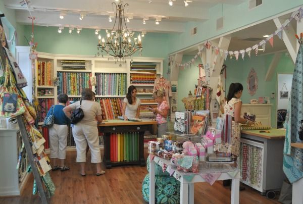 The Little General Fabric Boutique In Winston Salem Nc Vibrant