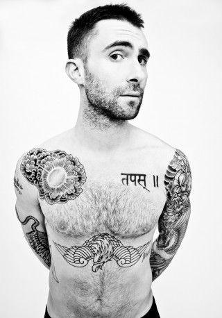 Adam Levine Tiger Tattoo : levine, tiger, tattoo, Tattoos, Levine, Tattoos,, Levine,