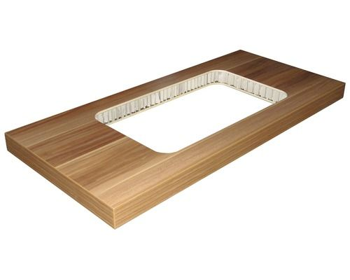 Badezimmermöbel fackelmann ~ Waschtischplatte fackelmann cesana zwetschge cm bei