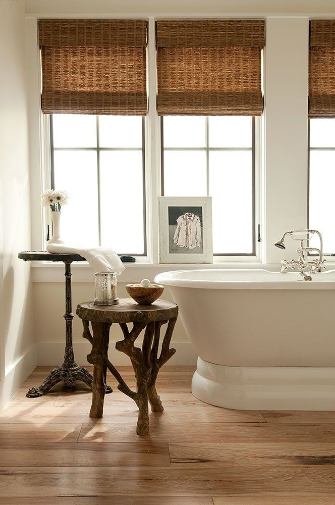 Window Treatments for Master Bath On The Waterfront