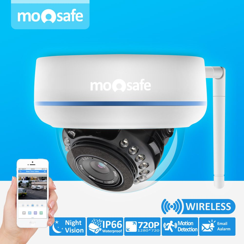 Video Security Camera CCTV HD 720P Home Surveillance Wireless WIFI ...