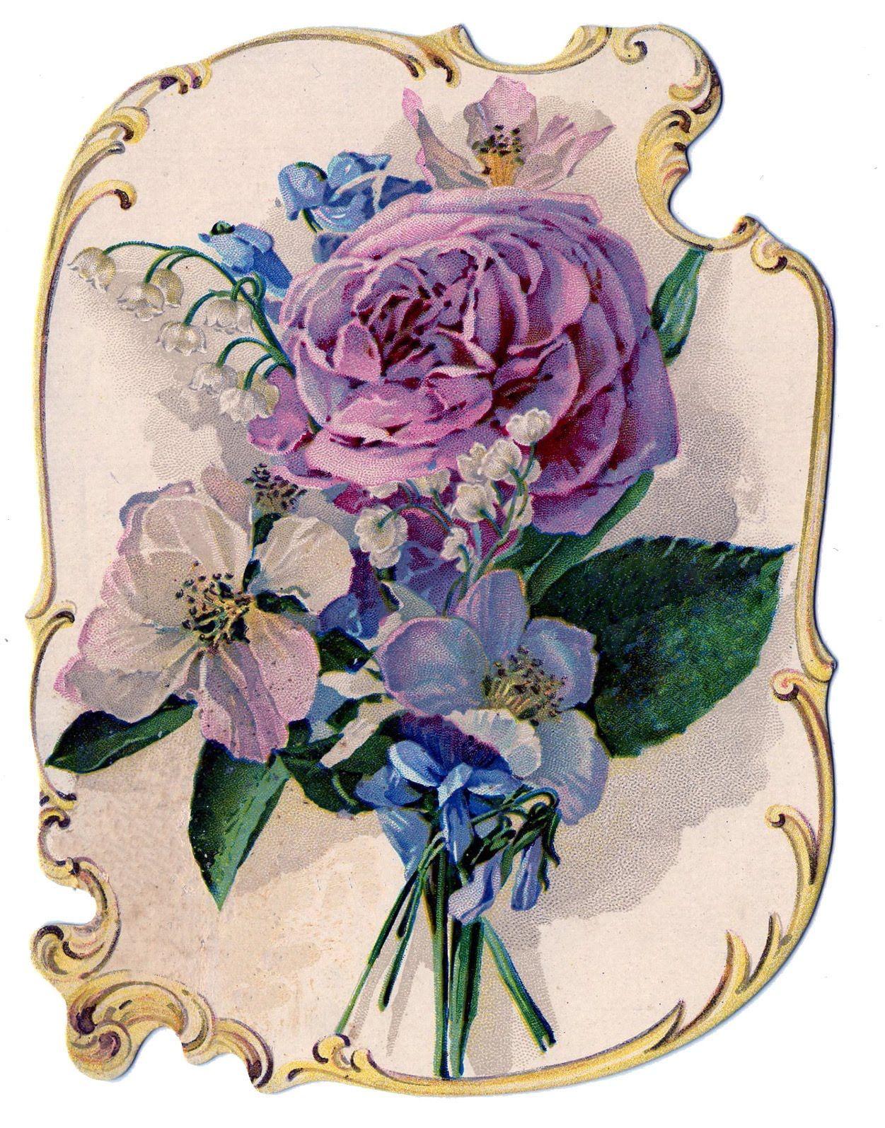 красивые картинки с цветами старинные известна только родине