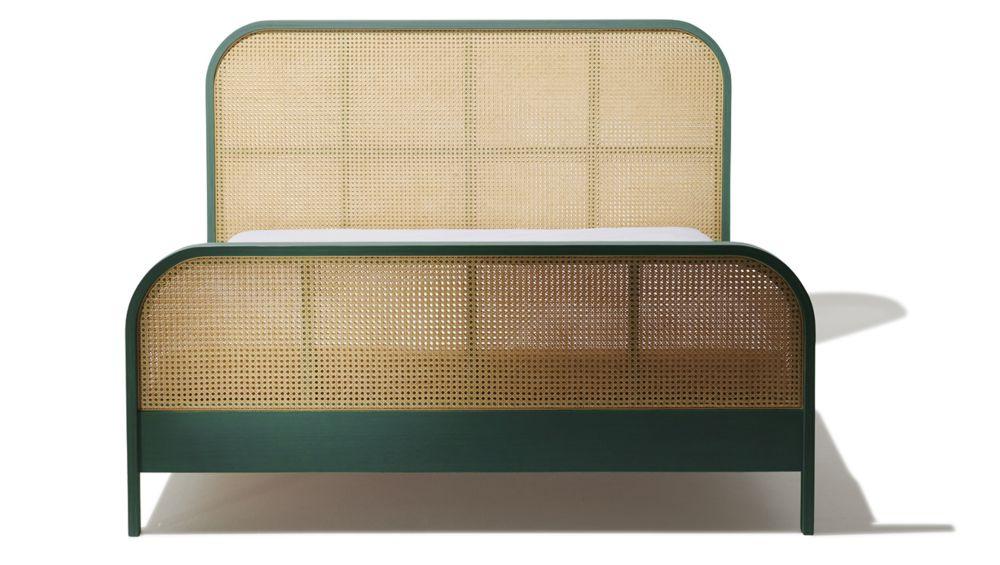 Cane Queen Bed Queen beds, Queen bed dimensions, King beds