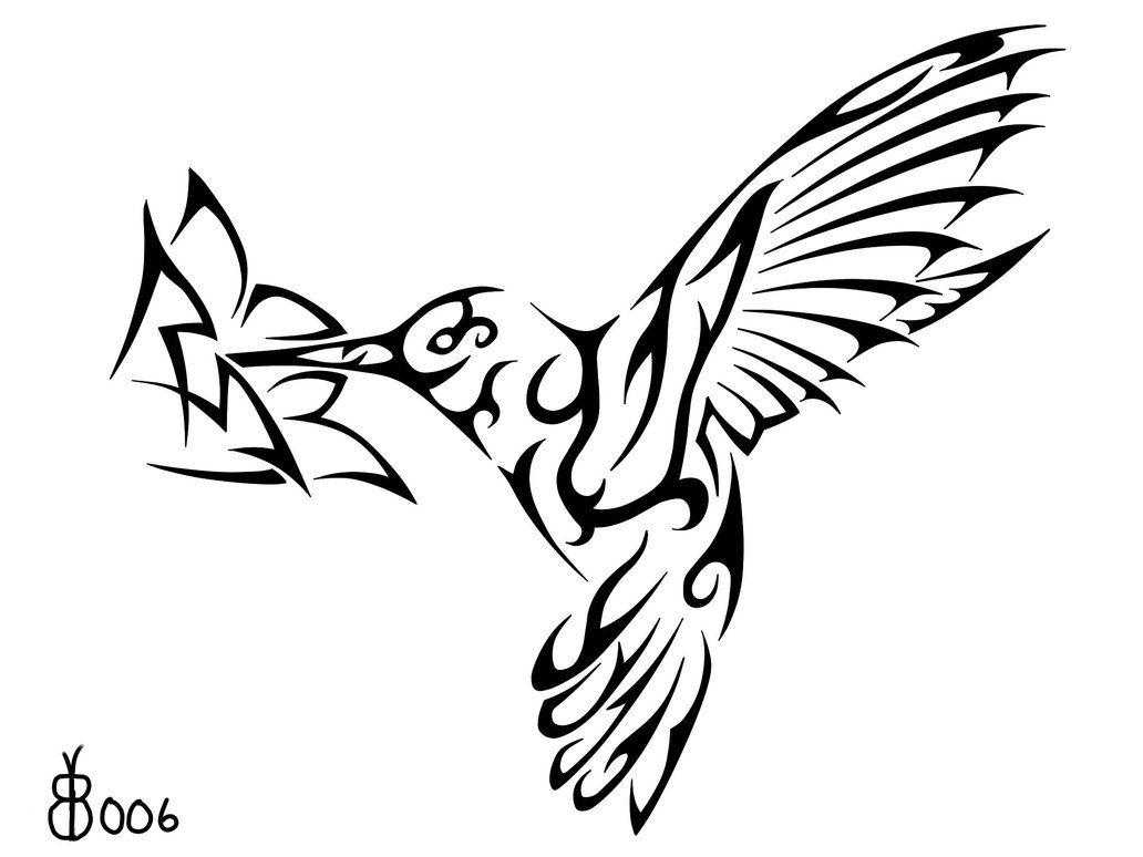 Tribal Hummingbird Tattoos Google Search Tribal Bird Tattoos Hummingbird Tattoo Hummingbird Tattoo Black