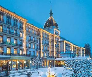 Most Beautiful Hotel I Ve Stayed At In Interlaken Switzerland Victoria Jungfrau