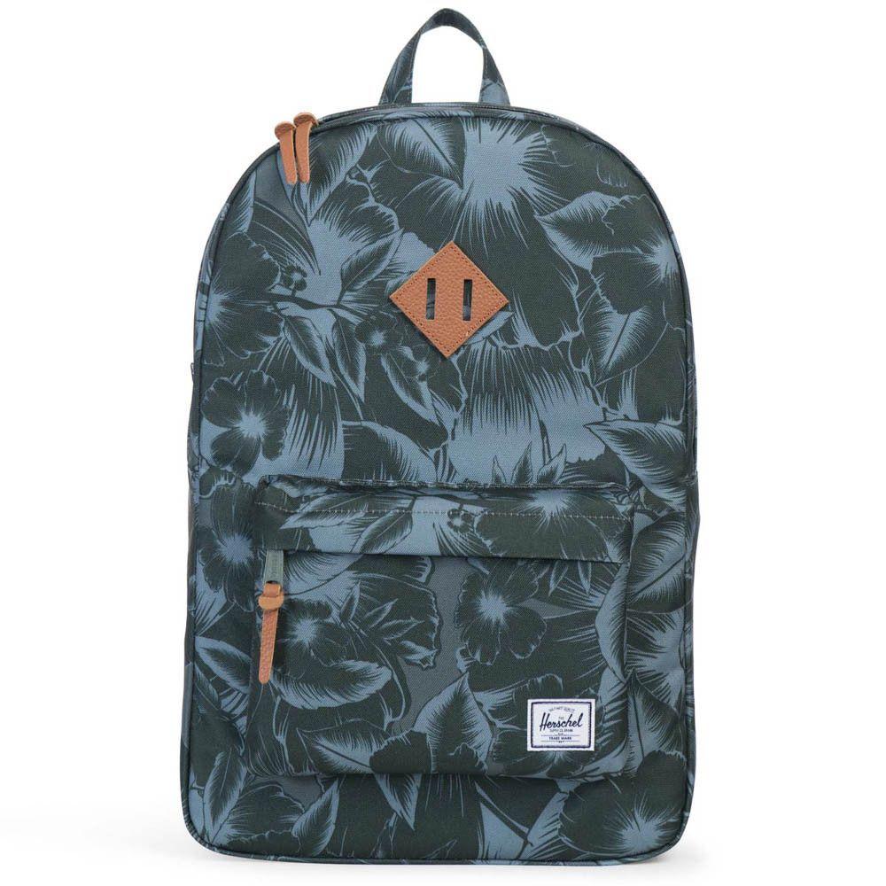 Herschel Supply Co. Heritage Backpack - Jungle Floral Green ... d7fe18d600388