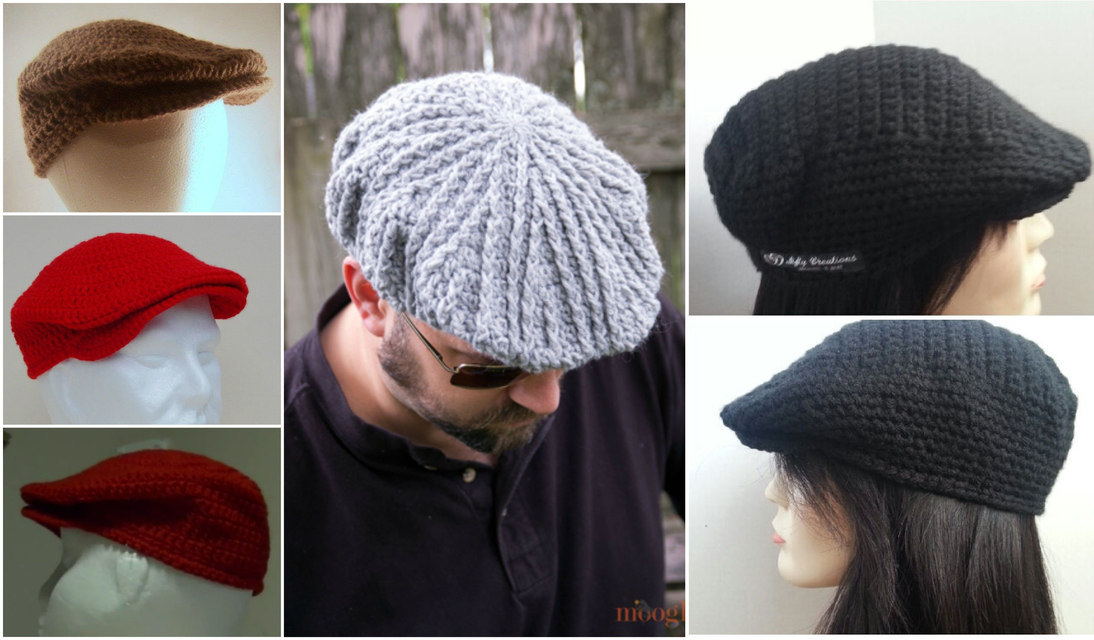 Mens Knitted Cap Pattern