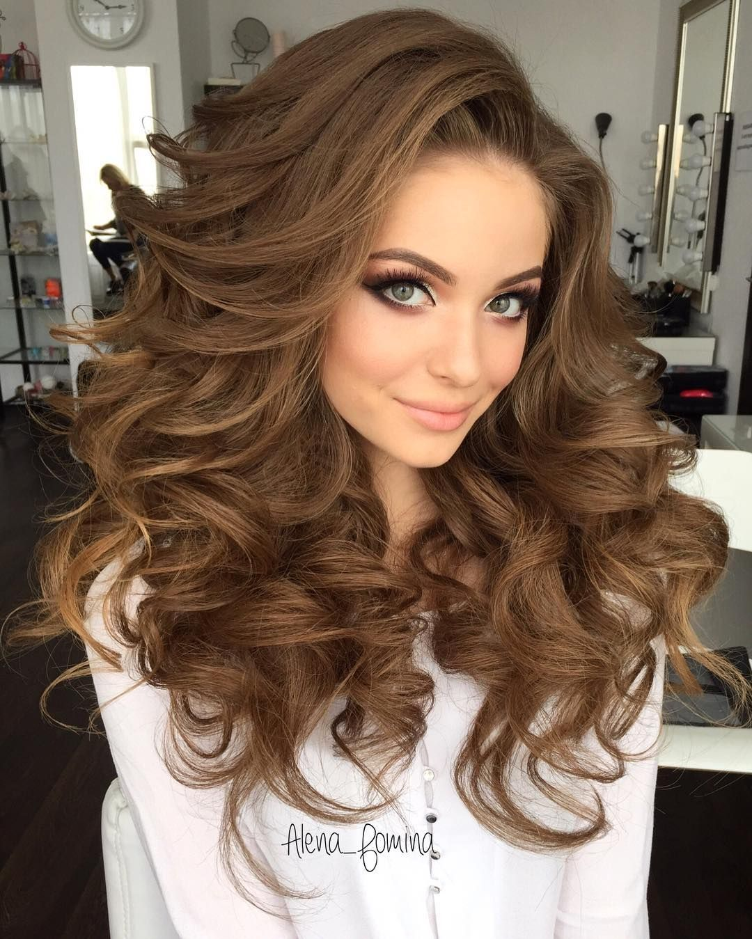Big Hairstyles Stunning ☪Pinterest → Frenchfangirl ☼Beautiful Style Looking Good Far