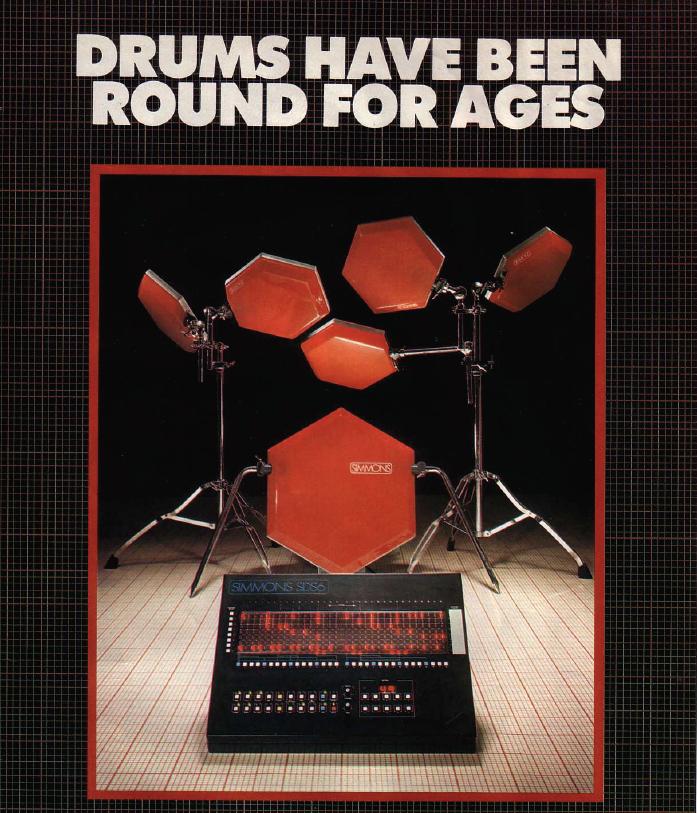 Simmons Drums Advertisement Circa 1981 Drums Drum Kits Electric Drum Set