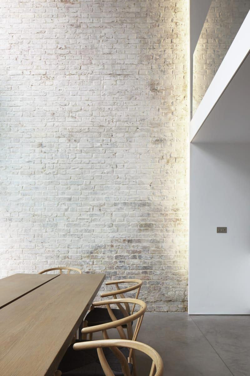 33 Modern Interior Design Ideas Emphasizing White Brick Walls Tags White Brick Wall Decor White Brick Wa Brick Interior Brick Interior Wall Brick Wall Decor
