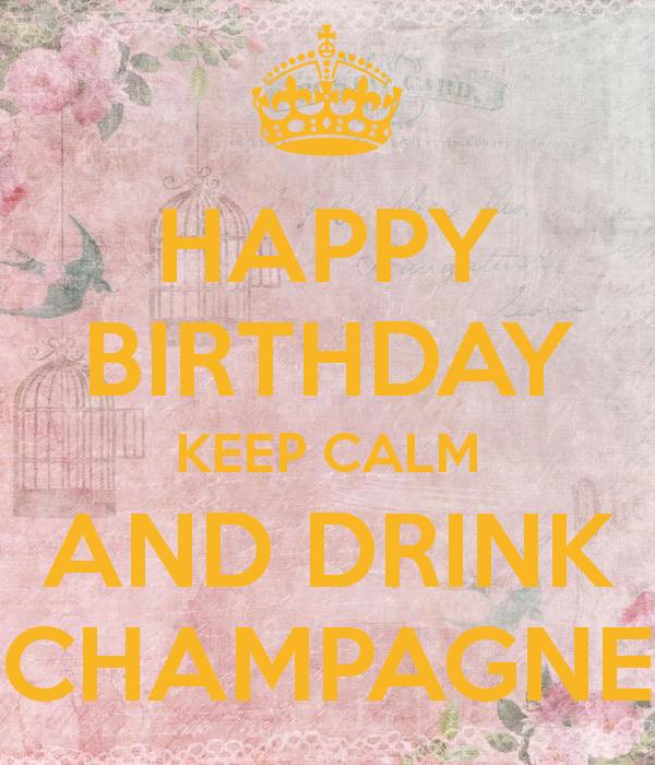 happy birthday and drink champagne - Sök på Google