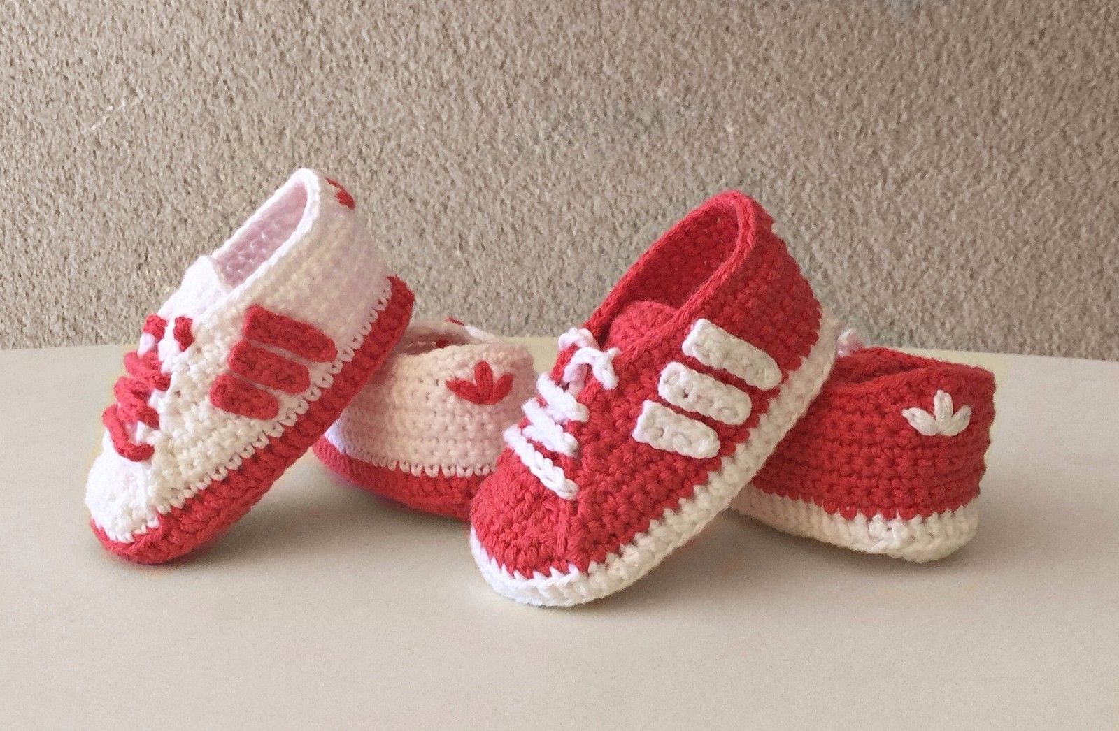 9df1447d3 Zapatos zapatitos bebé crochet recién nacido
