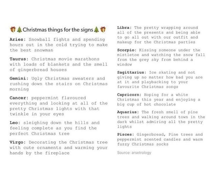 Image result for zodiac signs at christmas party