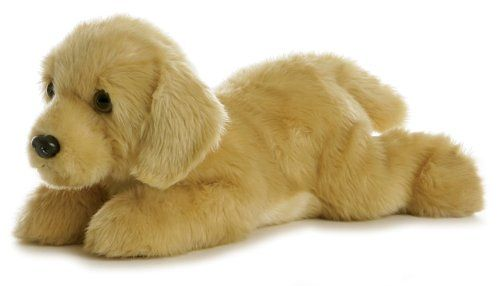 "12"" GOLDIE is an adorable stuffed golden labrador retriever - part of the Flopsie domestic stuffed dog and cat collection   Aurora only uses lock washer or embroidered eyes and nose for safety.' http://www.amazon.com/Aurora-Plush-Goldie-Flopsie-12/dp/tech-data/B00124X5YQ%3FSubscriptionId%3DAKIAIQRBICP6RJGMN6QA%26tag%3Dbrianschultzo-20%26linkCode%3Dxm2%26camp%3D2025%26creative%3D386001%26creativeASIN%3DB00124X5YQ $7.25"