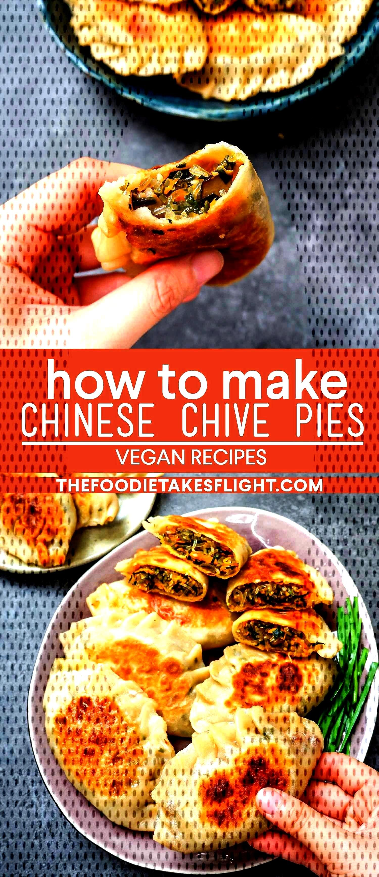 Chinese Chive Pies (Vegan Recipe)Chinese Chive Pies (Vegan Recipe)Chinese Chive Pies (Vegan Recipe)