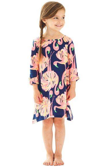 Main Image - Lilly Pulitzer® Mini Edna Shift Dress (Toddler Girls, Little Girls & Big Girls)