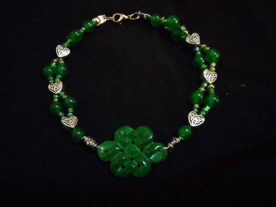 Check out this item in my Etsy shop https://www.etsy.com/listing/223909279/endless-love-peace-bracelet-jade-celtic