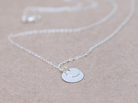 Silver Au Lamina Necklace