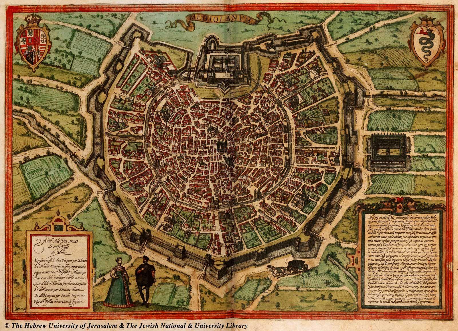 Historical Map Milan TuscanyAgriturismoGiratola Window Pinterest