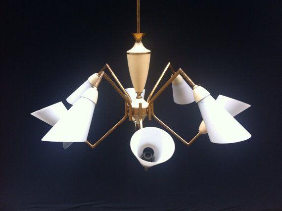 Moderne Lampen 8 : Sputnik original lampen er jahre von box auf etsy lamps