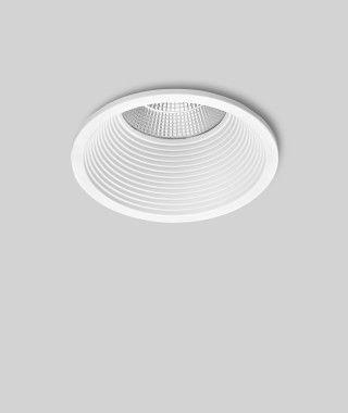 Prediger P.34.2 LED Deckeneinbauleuchten M Weiß Rund – Design ...