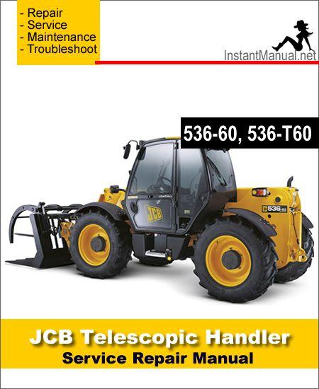 Download JCB 536-60 536-T60 Telescopic Handler Service ... on