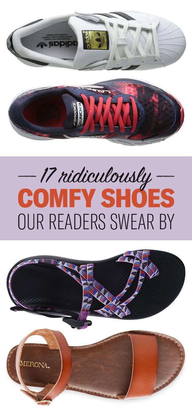 13 Ridiculously Comfy Pairs Of Shoes