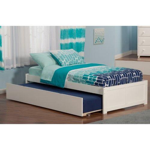 Concord Twin W Urban Trundle White Tempat Tidur Tempat Tidur