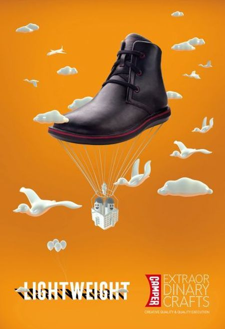 37 Creative Shoes Advertisements - DzineBlog.com  a08549942aa4