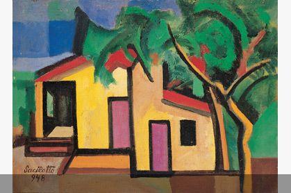Paisagem (casa na estrada do vergueiro SBC) - Luiz Sacilotto