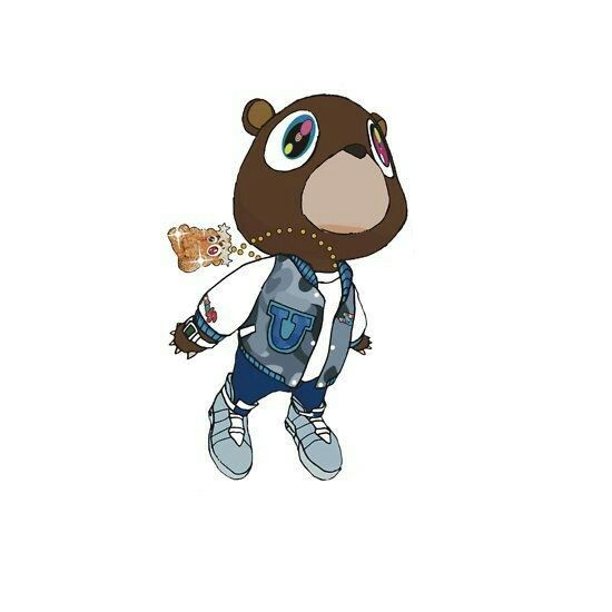 Kanye Bear Kanye West Graduation Bear Kanye West Graduation Graduation Bear