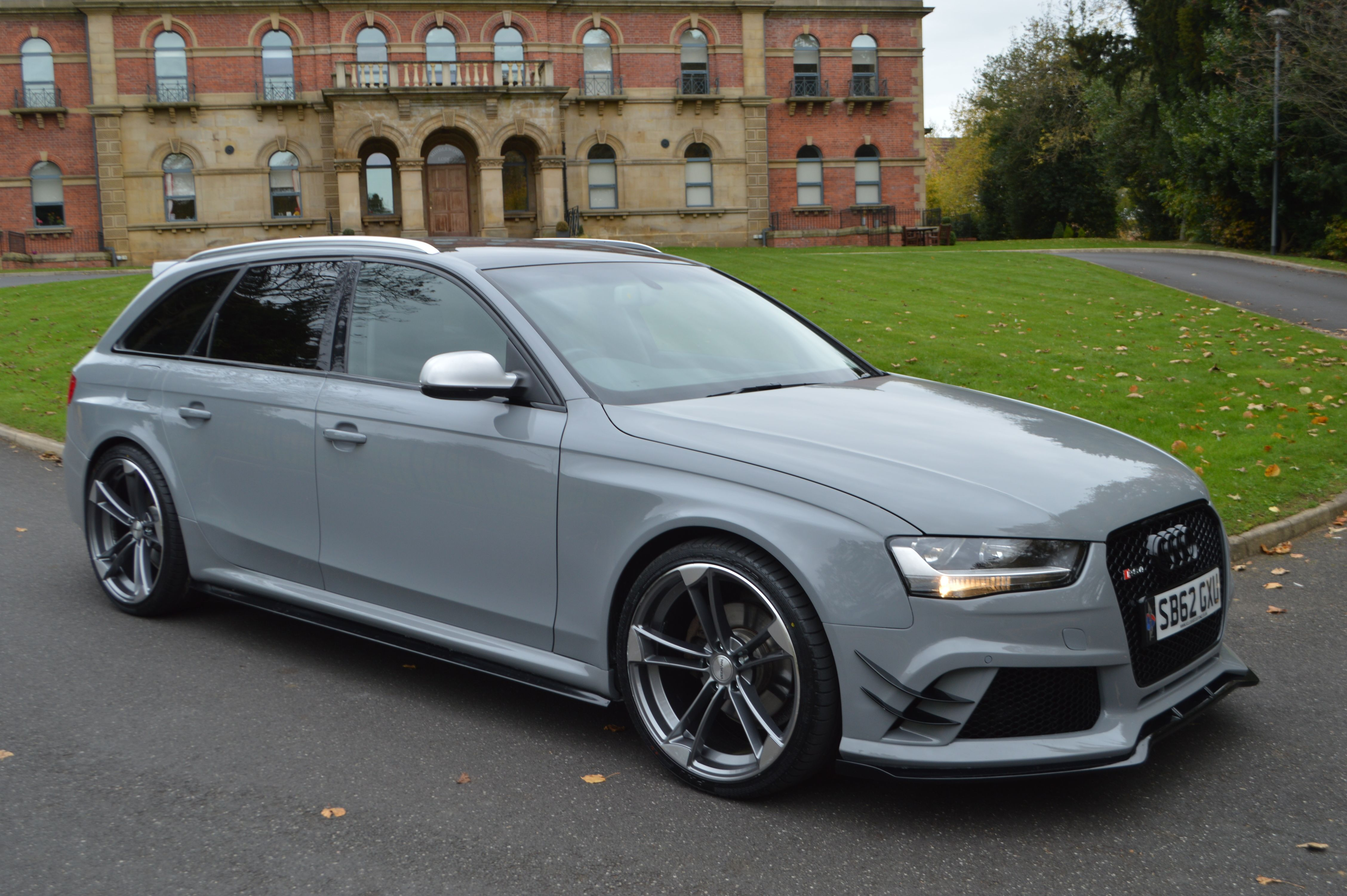 audi a4 b8 avant to rs4 full body kit cars. Black Bedroom Furniture Sets. Home Design Ideas