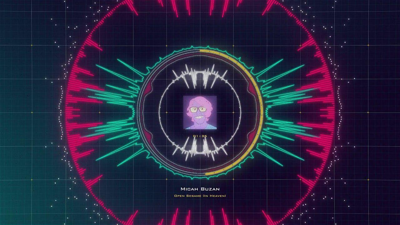 MUSIC VISUALIZER - Open Sesame (Audio React Video) | Music