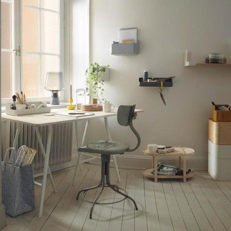 Nice work space.....Cecilie Manz for Iittala