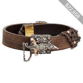 Sevan Biçakçi Wrap Bracelet With Dagger Closure