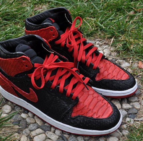 "Nike Air Jordan 1 High ""Banned Python"""